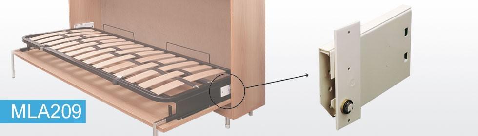 Горизонтальная откидная кровать как сделать самому